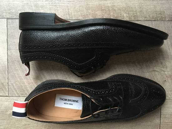Thom Browne Classic longwing pebble grain brogues Size US 5.5 / EU 38 - 2