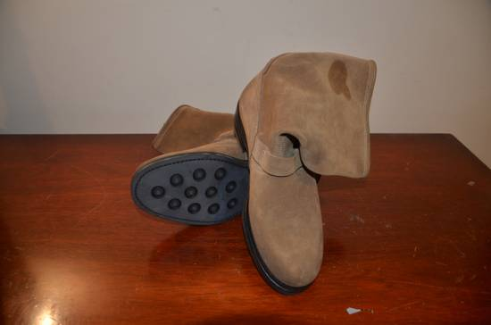 Balmain Caramel Engineer Boots BNIB; vibram sole Size US 9 / EU 42