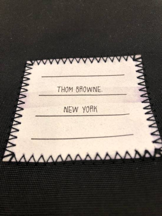Thom Browne Drawstring Bag In Black Size ONE SIZE - 2