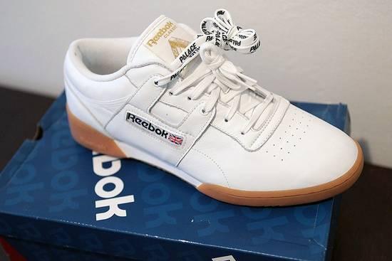 f6b89d94b05 Palace Palace Skateboards x Reebok Workout Low - White   Gum - size US 10  UK ...