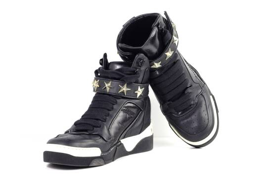 Givenchy Givenchy Black Leather High Tops Size 41 Size US 8 / EU 41 - 14