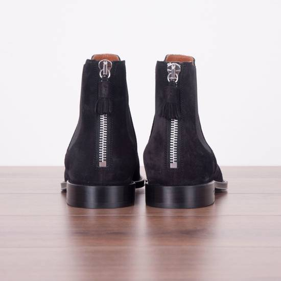 Givenchy SS18 New Suede Chelsea Boots With Back Zip Size US 8.5 / EU 41-42 - 6
