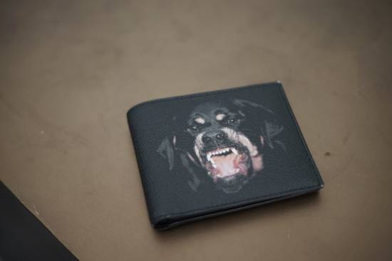 Givenchy Rottweiler Wallet Size ONE SIZE