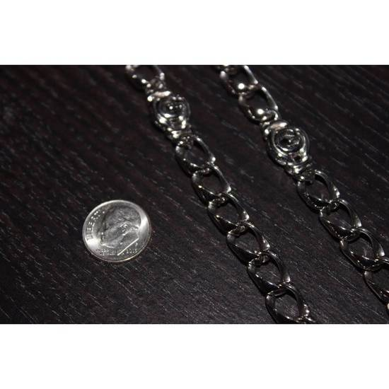 Givenchy Heavy Silver Givenchy Necklace Size ONE SIZE - 7