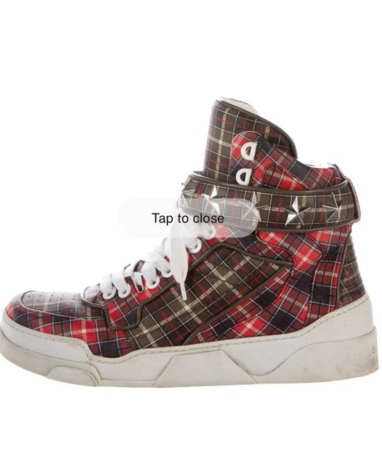 Givenchy Givenchy Plaid Tyson Sneakers Size US 10 / EU 43 - 1