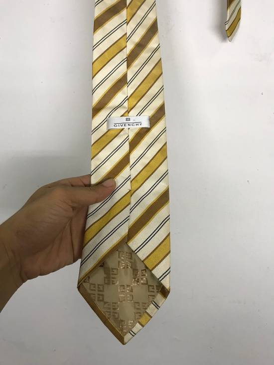 Givenchy GIVENCHY STRIPED NECK TIE MADE IN ITALY 100% SILK Size ONE SIZE - 2