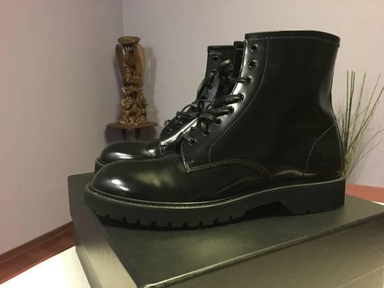Saint Laurent Paris Liverpool Combat Boots Grailed