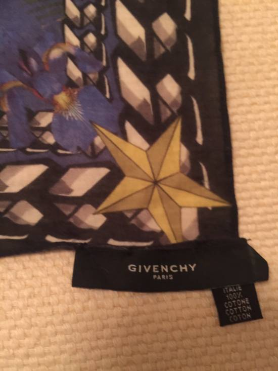 Givenchy Blue Givenchy Scarf 70cm X 70cm Size ONE SIZE - 2