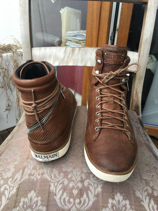 Balmain Balmain Antidote High Top Sneaker Size US 8 / EU 41 - 2
