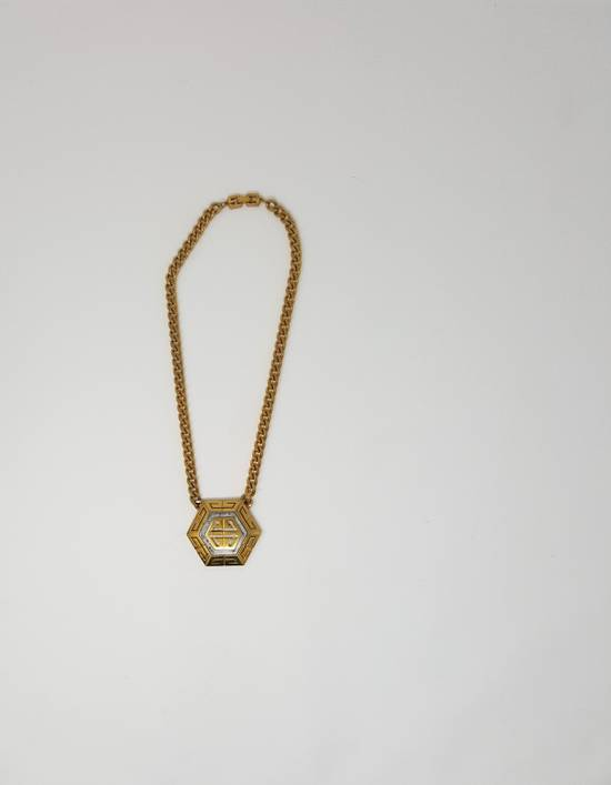 Givenchy OVERSIZED Gold plated logo necklace Size ONE SIZE - 15