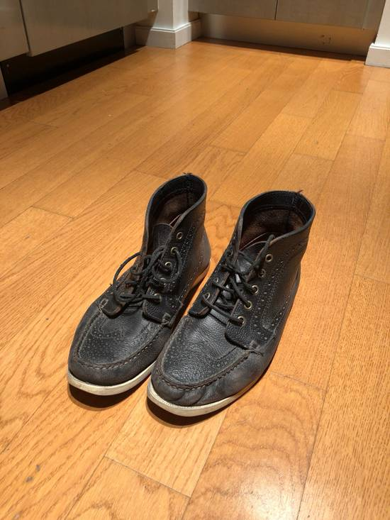 Thom Browne High Top Boat Shoes Size US 9.5 / EU 42-43