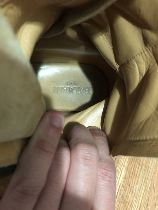 Balmain FW11 Military Ranger Boots (fit big) Size US 9 / EU 42 - 5