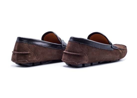 Givenchy Givenchy Men's Dark Brown Black Suede Loafers Slip Ons Size US 8 / EU 41 - 2