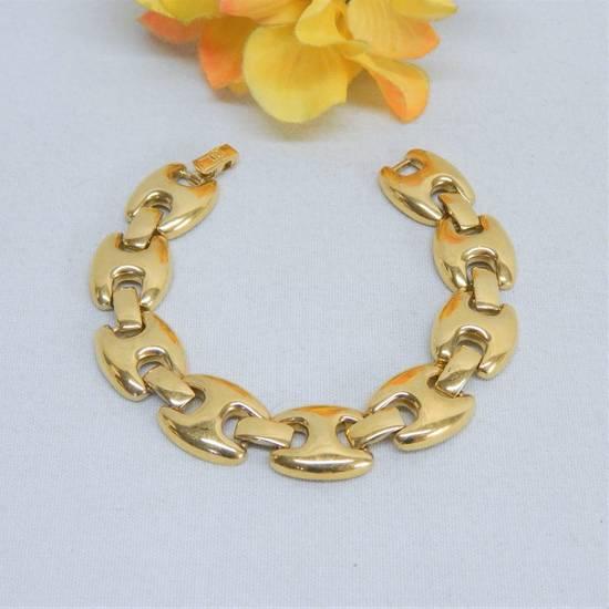 """Givenchy 8"""" Gold Plated Bracelet Size ONE SIZE"""
