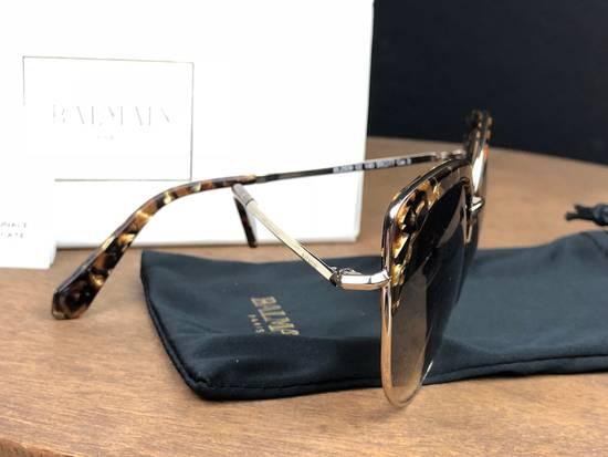 Balmain Balmain Black Gold Sunglasses BL 2509 Size ONE SIZE - 1