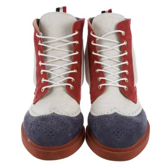 Thom Browne Tricolors Boots Nubuck Leather Size US 7 / EU 40