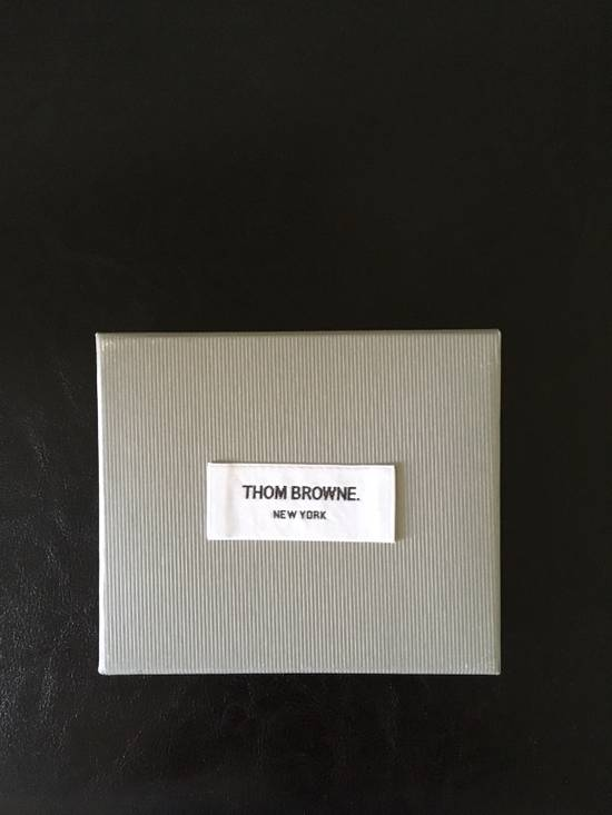 Thom Browne Off-White Diagonal Stripe Single Card Holder Size ONE SIZE - 4