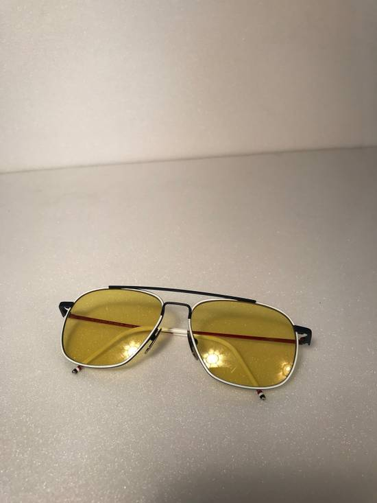 Thom Browne Rare Thom Browne Tinted Yellow Sunglasses Size ONE SIZE - 2
