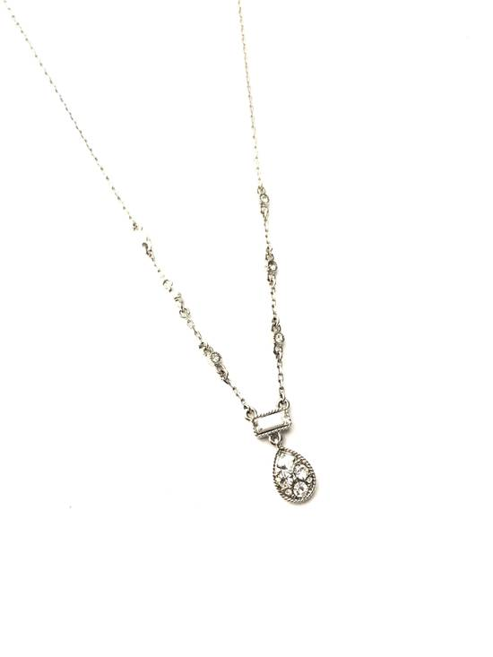 Givenchy Givenchy Silver Tone Ice Chain Size ONE SIZE - 1