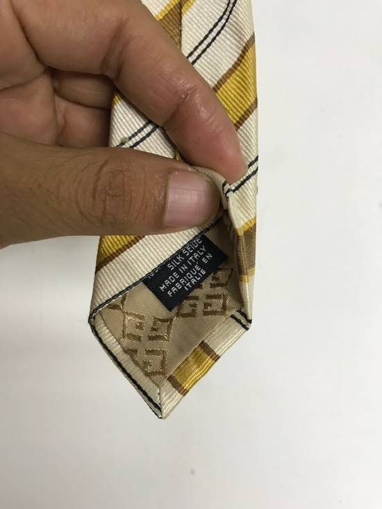 Givenchy GIVENCHY STRIPED NECK TIE MADE IN ITALY 100% SILK Size ONE SIZE - 3