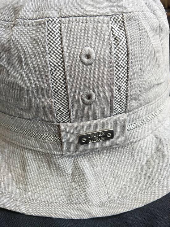 Balmain Athentic Classic Ivoire De Balmain Bucket Hat / Luxury French Designer Monogram Spellout / Good Condition / Small Size Size ONE SIZE - 1