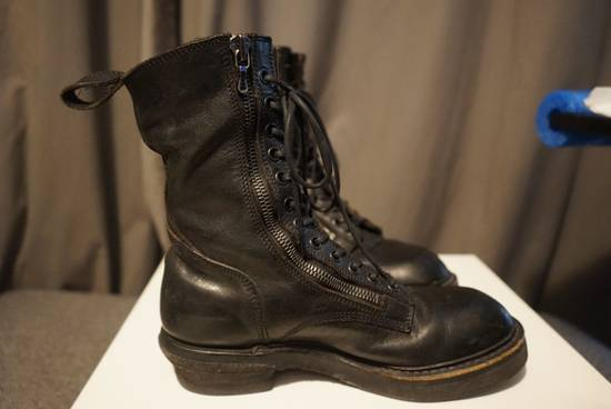 Julius Julius SS11 Double Zip Combat Boots Size US 10.5 / EU 43-44 - 4