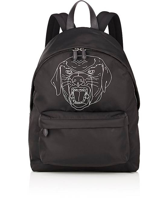 Givenchy Givenchy Stenciled-Rottweiler Classic Backpack Size ONE SIZE