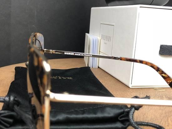 Balmain Balmain Black Gold Sunglasses BL 2509 Size ONE SIZE - 4
