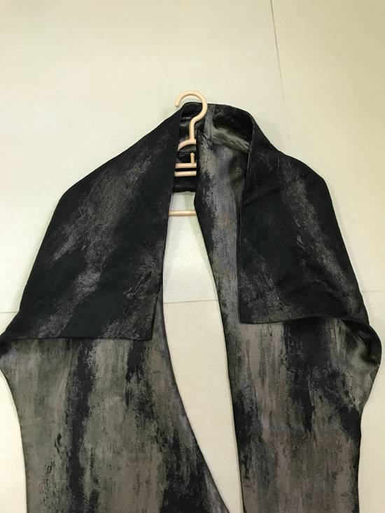 Julius SS13 gold structure scarf Size ONE SIZE - 2