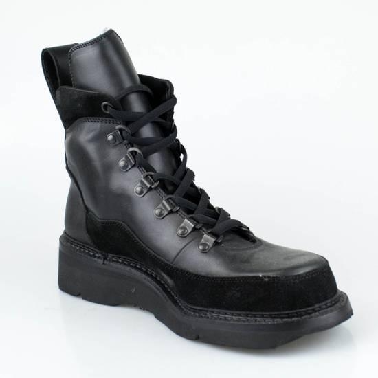 Julius 7 Black Cow Nubuck Leather Ankle Boots Shoes Size US 10 / EU 43 - 4