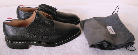 Thom Browne THOM BROWNE BLACK BLUCHER/DERBY IN PEBBLE GRAINED LEATHER Size US 10 / EU 43 - 4
