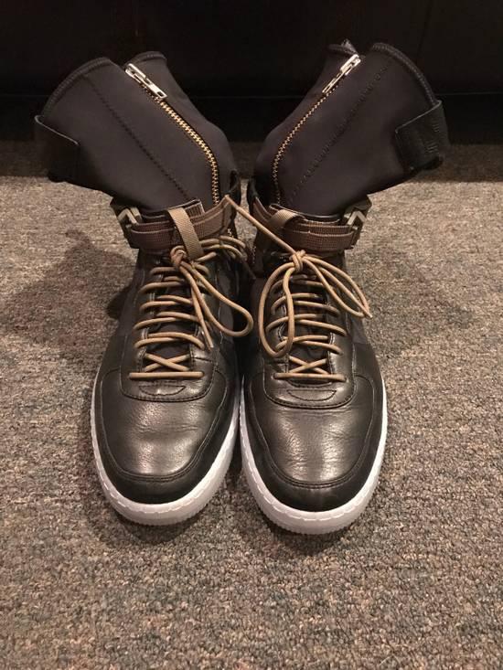 Nike AF1 Downtown Hi SP Black/black-medium olive Size US 9.5 / EU 42-43 - 1