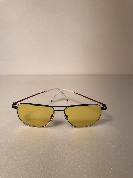 Thom Browne Rare Thom Browne Tinted Yellow Sunglasses Size ONE SIZE - 3