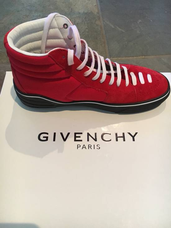 Givenchy Red Givenchy High Tops Size US 7.5 / EU 40-41 - 1
