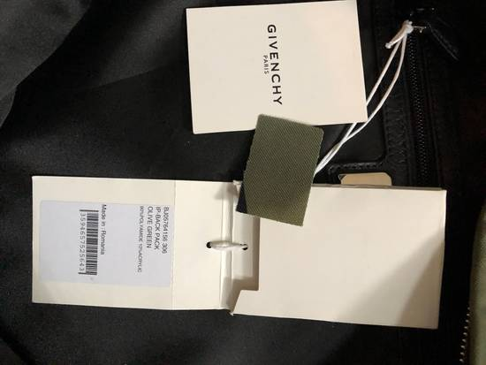 Givenchy Egyptian Green Olive Backpack Size ONE SIZE - 4