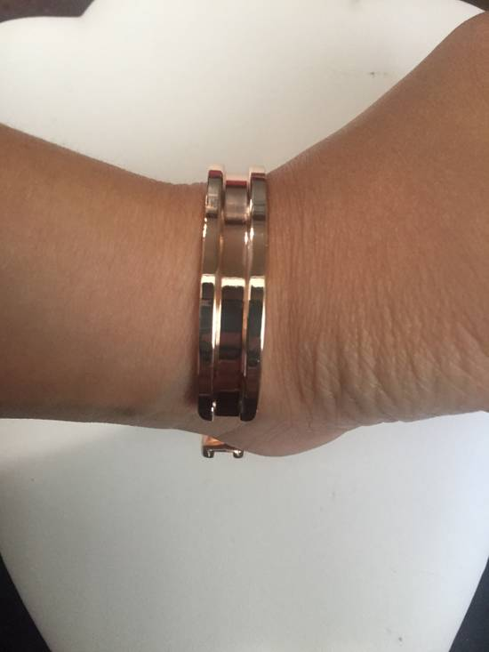 Jw Rose Gold Open Back Bangle Size ONE SIZE - 3