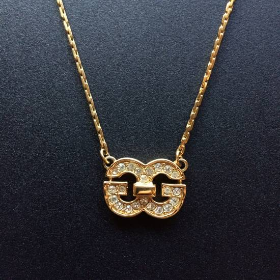 Givenchy Iced Out Double G Chain Size ONE SIZE