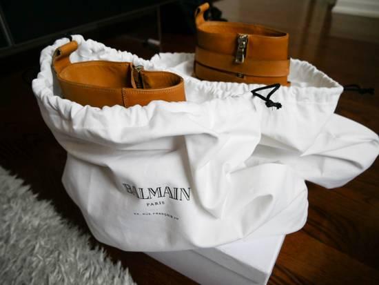 Balmain Balmain Steel Toe Boots Sz 44 (US 11) Size US 11 / EU 44 - 8