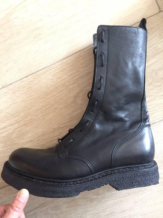 Balmain Decarnin Era 11' FW Combat Boots Size US 7 / EU 40