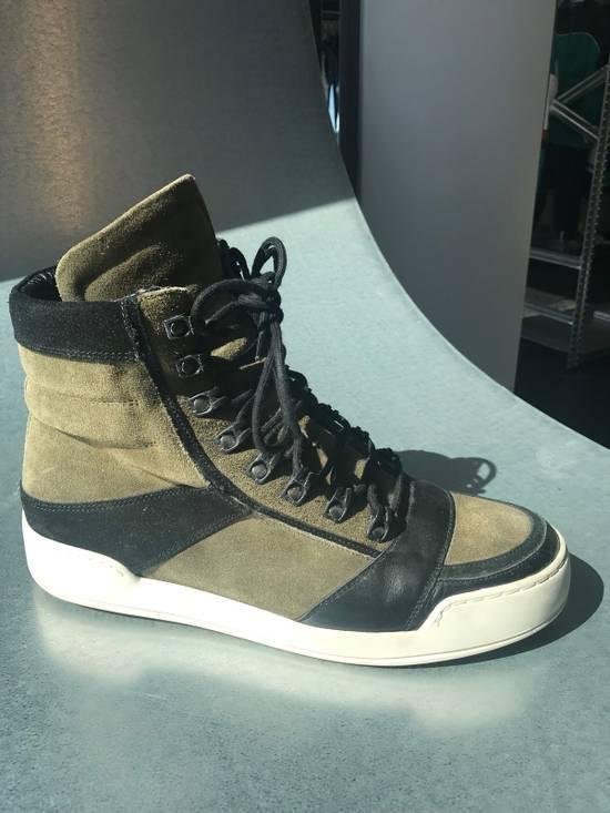 Balmain Balmain x H&M Hi-Top Sneaker Size US 11 / EU 44 - 1