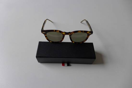 Thom Browne TB-403 Sunglasses - Tokyo Tortoise Size ONE SIZE