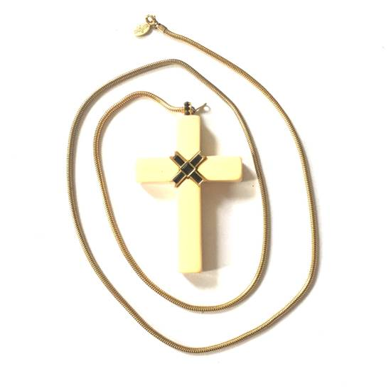 Givenchy 1976 Runway Jesus Piece Pendant Chain Size ONE SIZE - 12