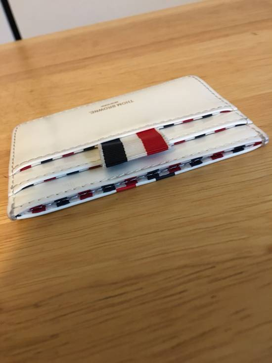 Thom Browne Stripe Card Holder Size ONE SIZE - 2