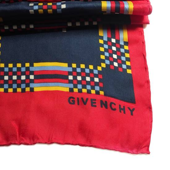Givenchy Givenchy silk muffler retro style 80s 90s made in japan /luxury brand/baroque style/summer scarf/celine/ Size ONE SIZE - 1
