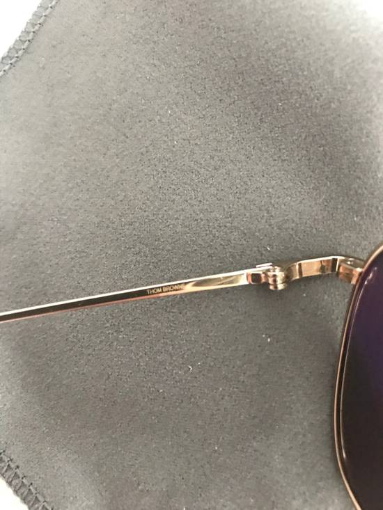 Thom Browne Thom Browne Gold Sunglasses Size ONE SIZE - 2