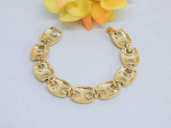 """Givenchy 8"""" Gold Plated Bracelet Size ONE SIZE - 1"""
