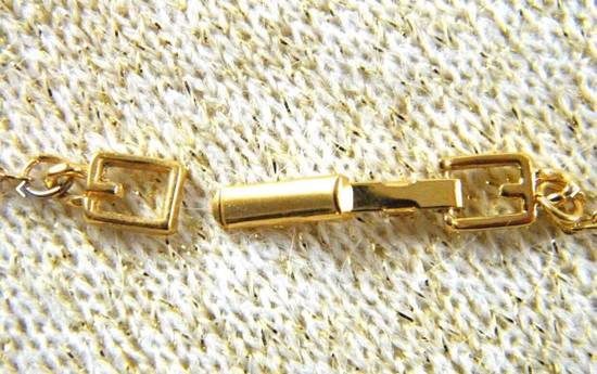 Givenchy Givenchy G Necklace Vintage Necklace Gold Tone Chain Size ONE SIZE - 3