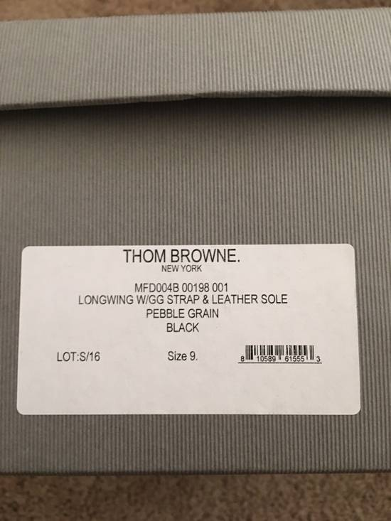 Thom Browne Thom Browne Pebble-Grain Leather Wingtip Brogues Size US 9 / EU 42 - 4