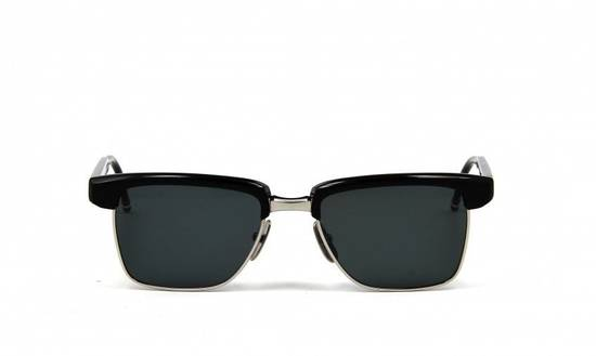 Thom Browne Sunglasses tb006c-t 50/19 145 New Black Silver $800 Size ONE SIZE