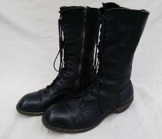 Julius f/w09 Tall Combat Boots Black Size US 11 / EU 44